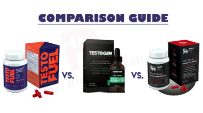 Testogen vs Testofuel Vs Prime Male Dr Richard Hall